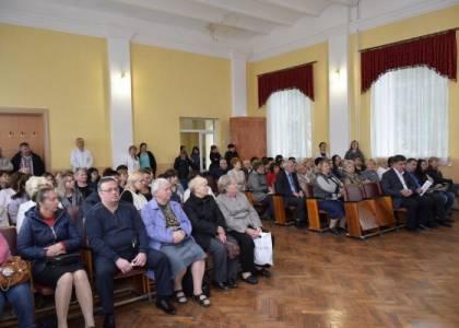 Зустріч керівництва Яворівського району з працівниками Яворівської ЦРЛ