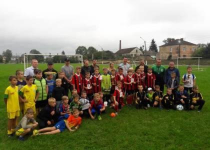 Відкрита першість Городоцької ДЮСШ з футболу серед дітей 2008-2009 р.н.