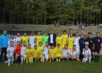 Товариський матч з футболу серед жіночих команд