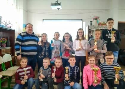 Першість Яворівського району з шахів серед школярів