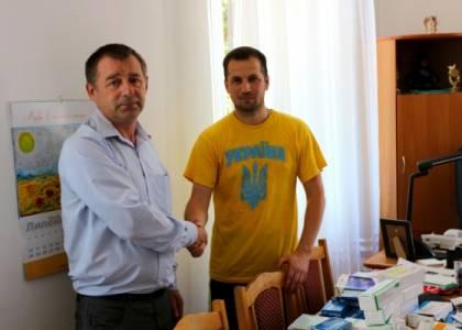 Італійські волонтери з яворівською пропискою