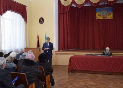 Зустріч голови Яворівської РДА з медичними працівниками району