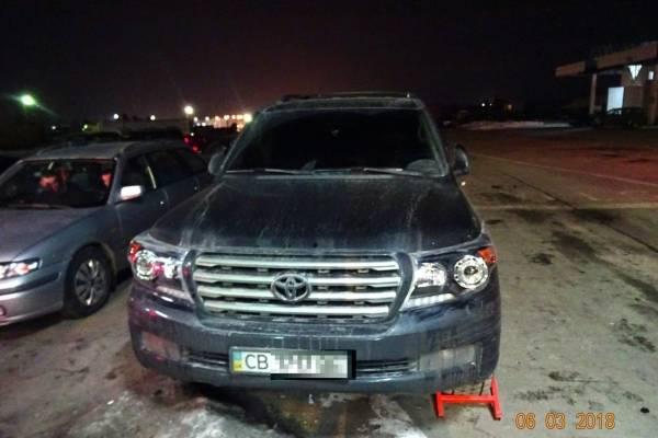 Викрадений позашляховик виявили на кордоні з Польщею